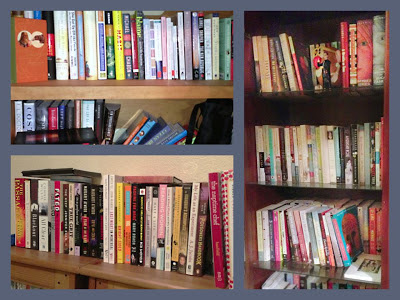 Bookshelf collage www.3rsblog.com