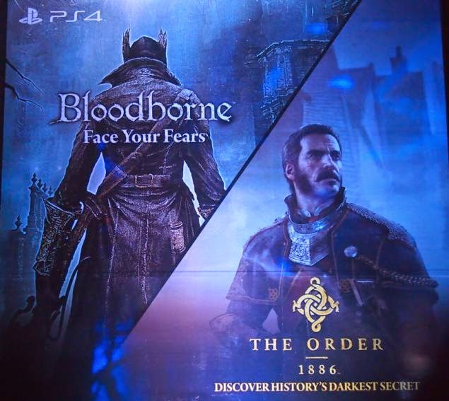 Sony Computer Entertainment Announced Availability of PlayStation 4 Exclusive Games The Order 1886 and Bloodborne