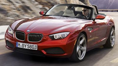 BMW Zagato Roadster Rendered