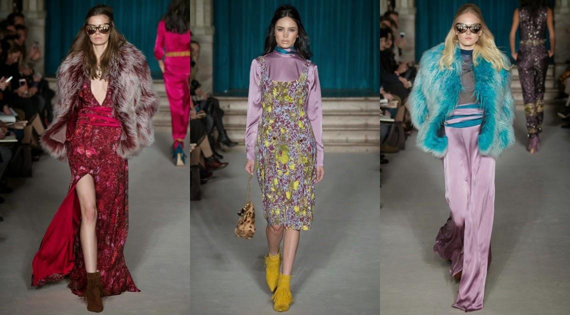 Matthew Williamson AW15 London Fashion Week