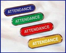 100% Attendance Awards