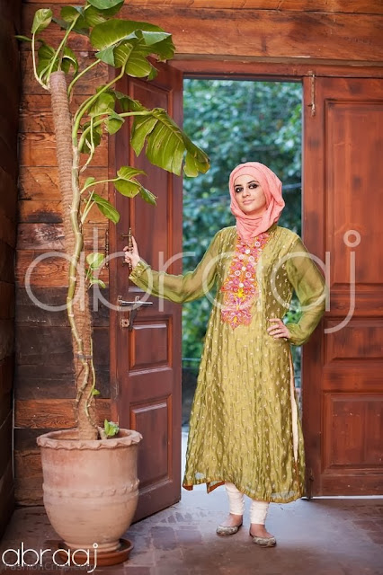 Abraaj Eid Collections 2013-2014 For Womens And Girls By Fashion She9