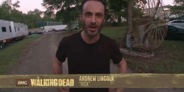 Andrew Lincoln o Rick de The Walking Dead 3 temporada