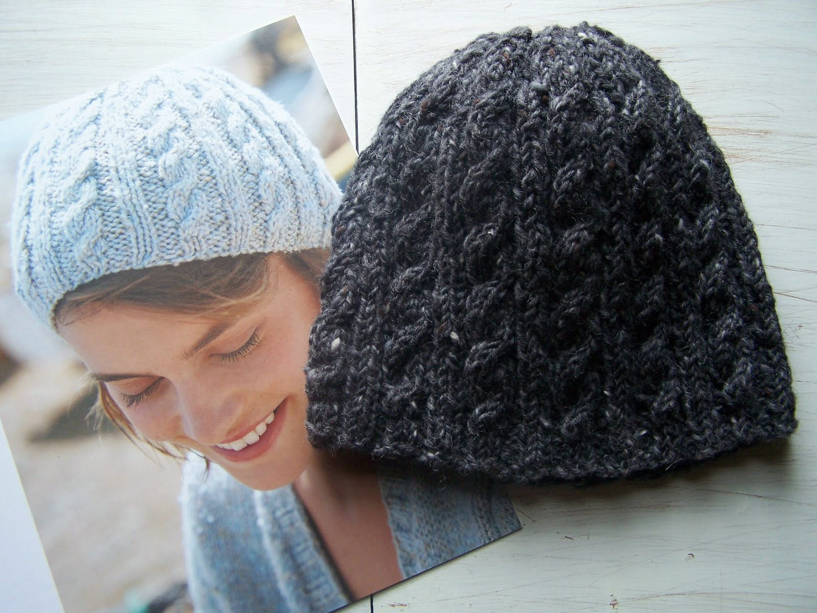 Knitting Patterns For Hats Using Circular Needles : Knitting Patterns For Hats Without Circular Needles