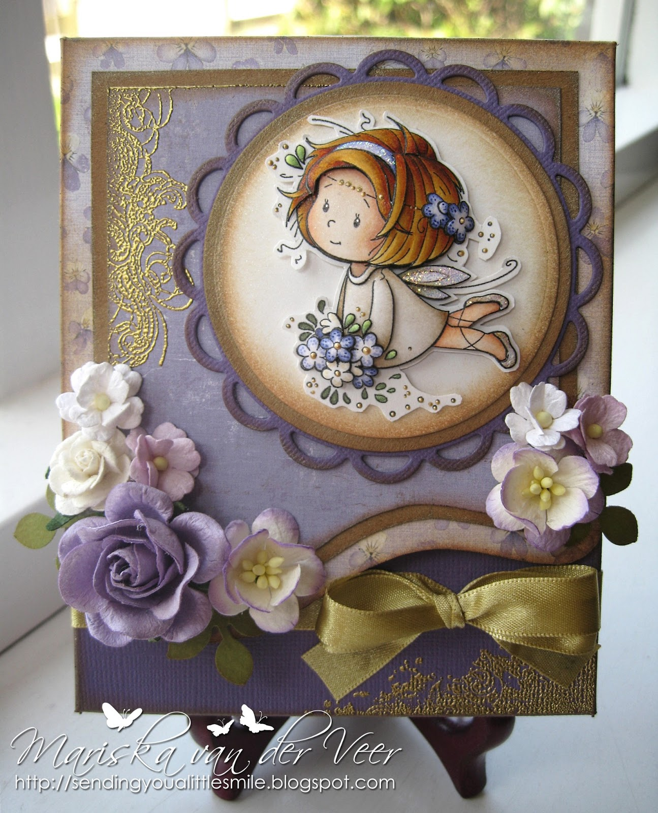 Sending You A Little Smile Wild Orchid Crafts