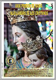 Cartel del XXXI Pregón a María Auxiliadora. 2012