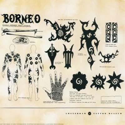 Yanzalfarez83 Desain Tato Unik Dari Borneo, yanzalfarez83 desain tato ...