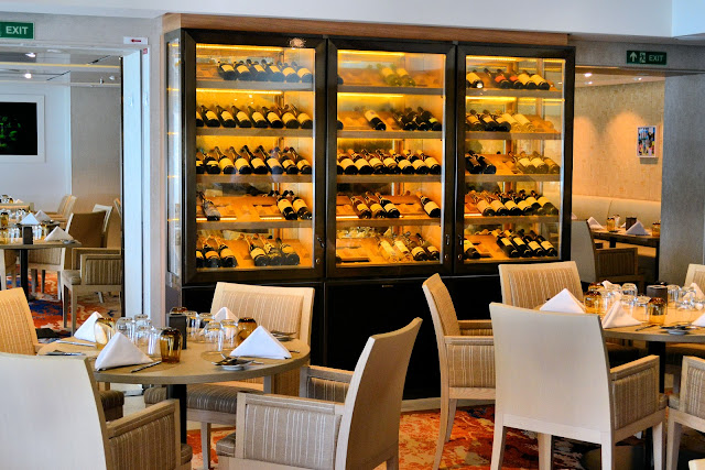 The Chef's Table is another specialty dining location and what the chef says, goes! The menu is not open to negotiation.