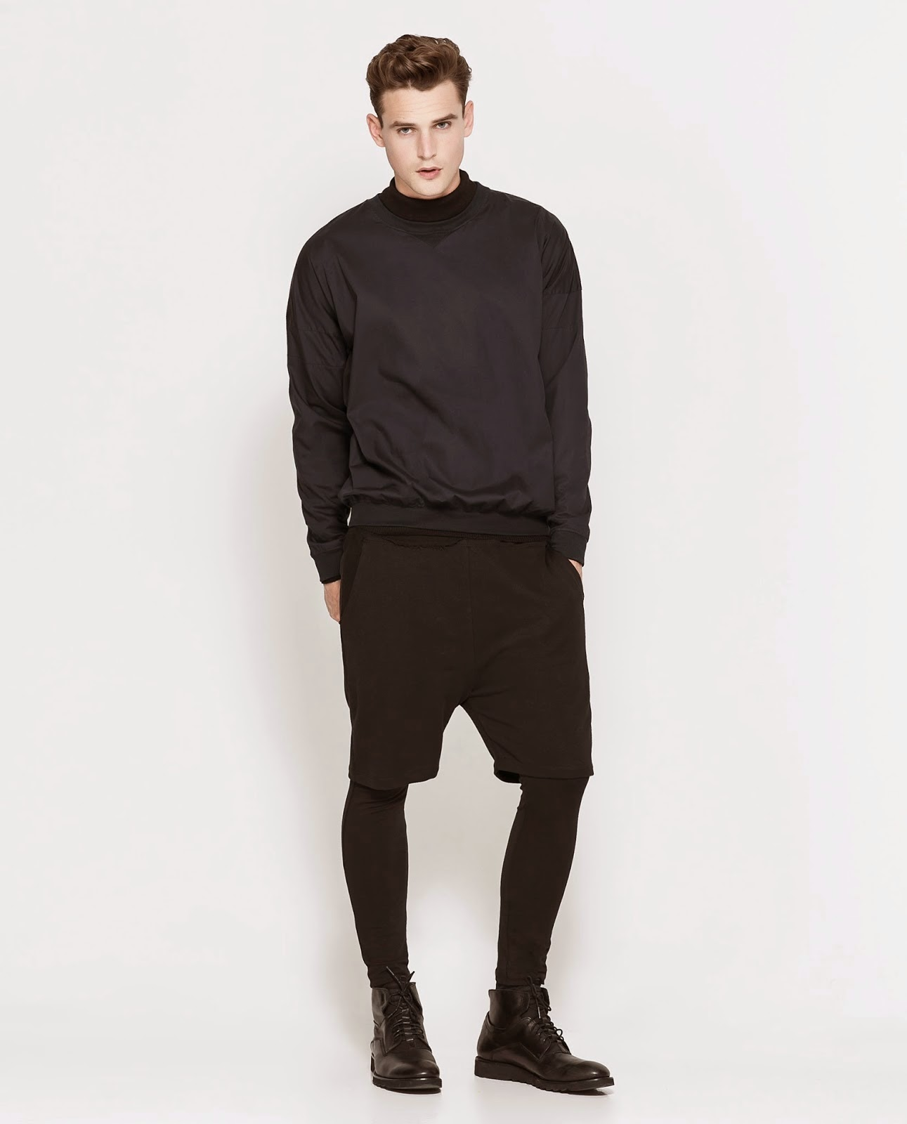 short leggings homme