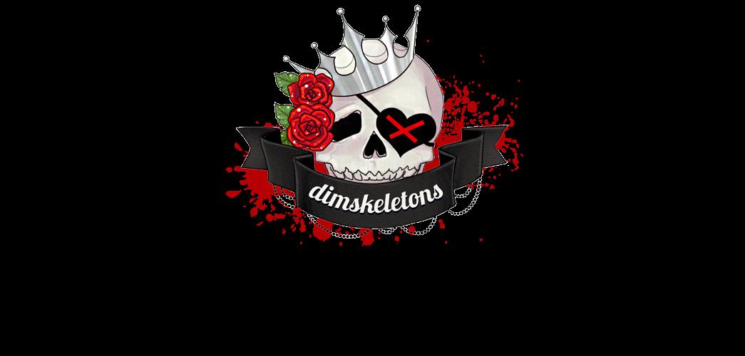 dim skeletons