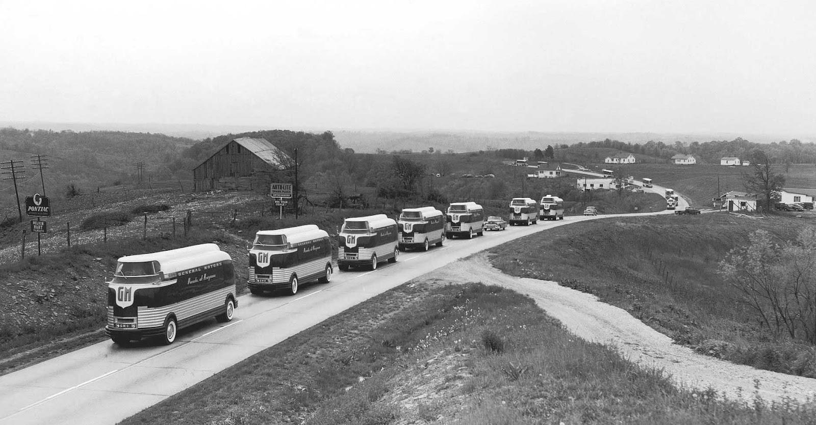 General Motors Futurliner Parade Of Progress Spotted In Canoga Park San Fernando Valley Blog