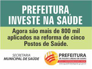 PREFEITURA INVESTE NA SAÚDE