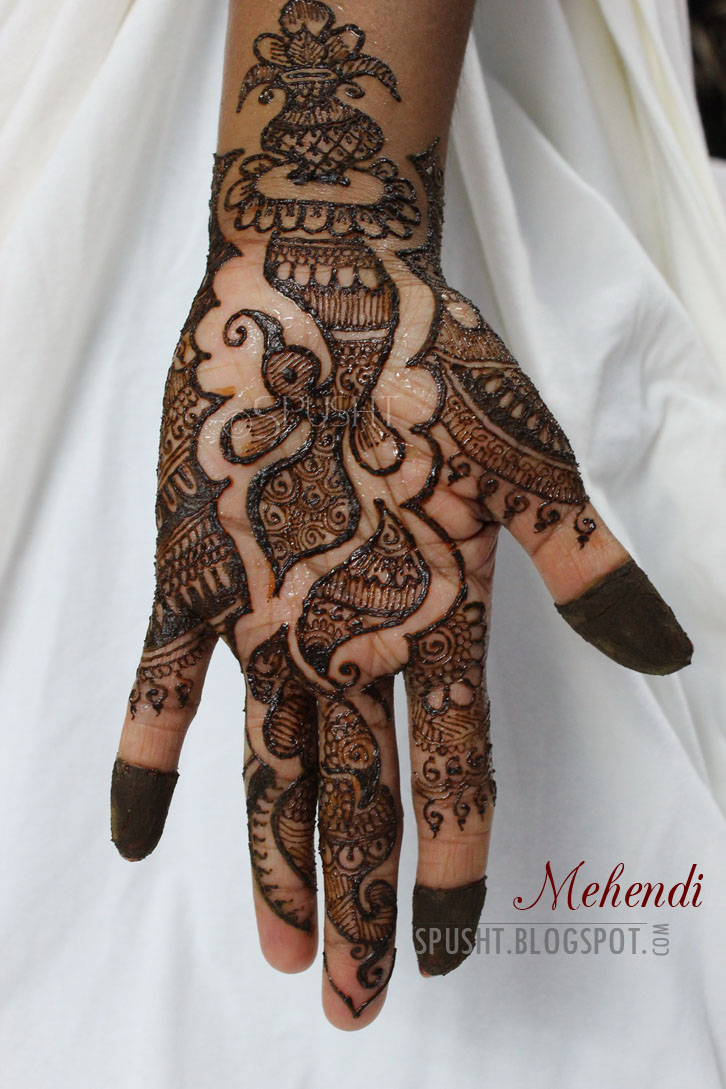Henna Sat For  Hours At Room Temperature