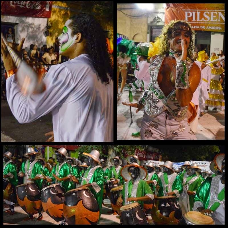 Carnaval. Desfile de Llamadas.Nigeria.