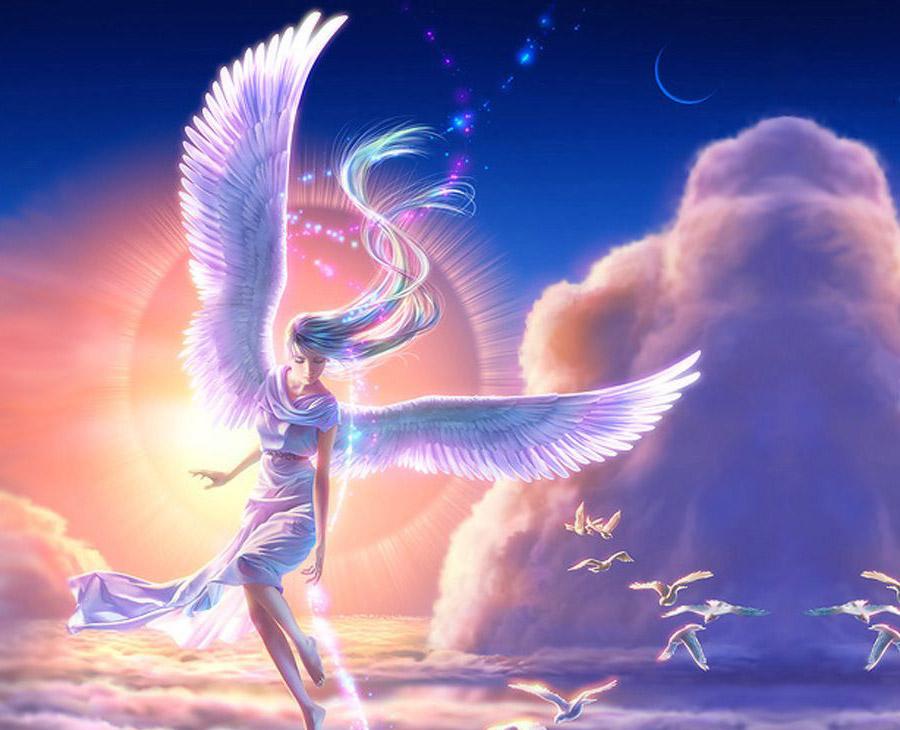 Grupo ángeles celestiales