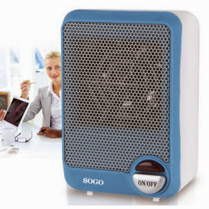 Amazon: Buy Sogo SS 18295 Mini Fan Heater at Rs.489 only