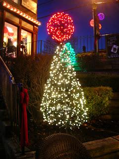 Freeport Maine Christmas lights