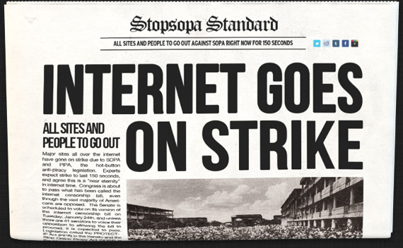 The Internet On Strike