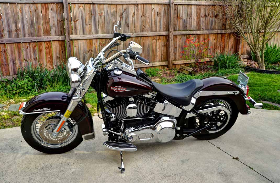 Adventures and Pondering  For Sale  2006 Harley Davidson Heritage