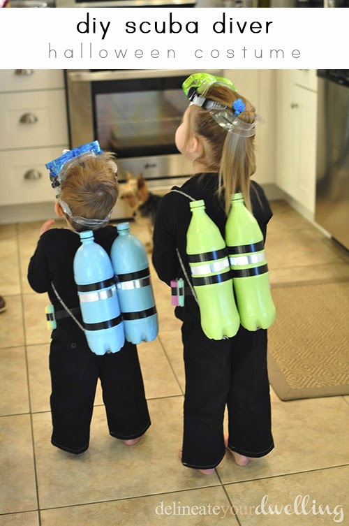 scuba-diver-halloween-costume diy