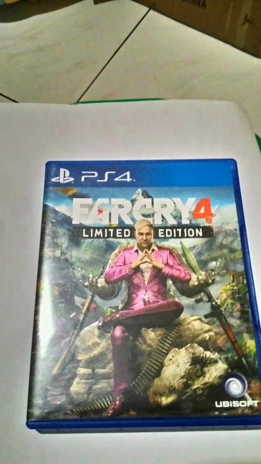 Rental Game Ps4 Ps 4 Kaset Bd Titanfall 2 Far Cry Limited Edition