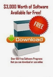 $3,000 Worth of Software Available for Free: 100+ free software programs that you can download or use online