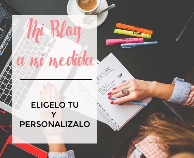 Elige tu plantilla en blogger gratis