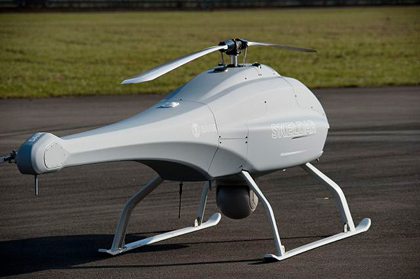 UAV naval: SAAB Skeldar V-200 Maritime (Suecia)