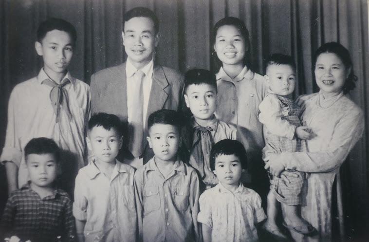 Gia đình năm 1960 ở Hà Nội