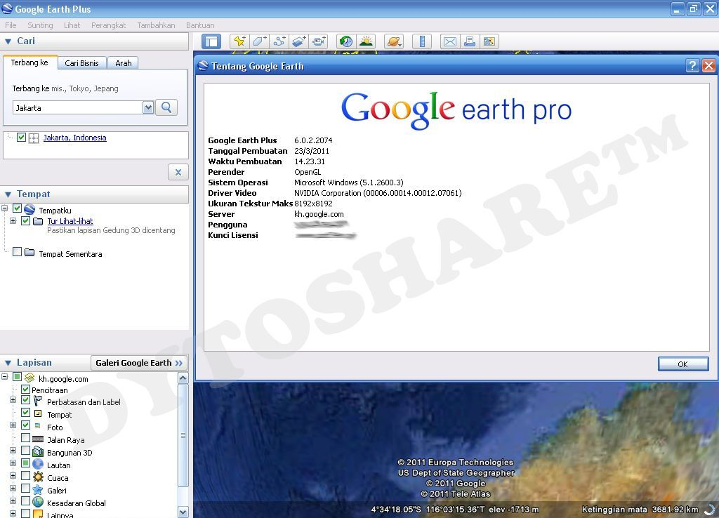 Telecharger Google Earth 2013 Free