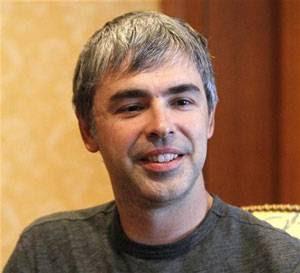 Larry Page foi eleito o CEO com menos de 40 anos mais poderoso dos Estados Unidos.