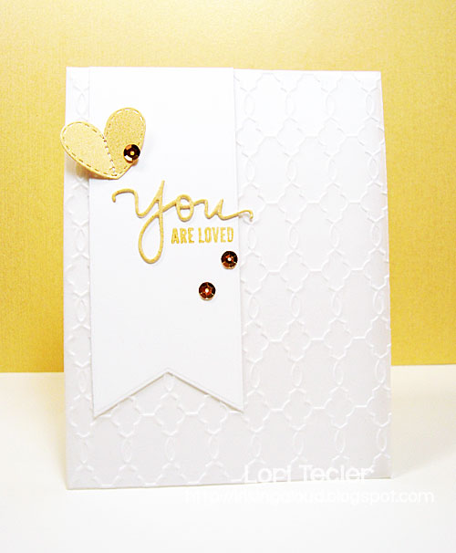 You Are Loved card-designed by Lori Tecler/Inking Aloud-stamps from Simon Says Stamp