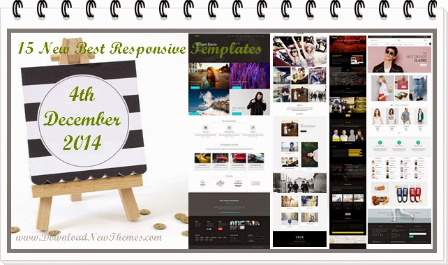 15 New Best Responsive Templates