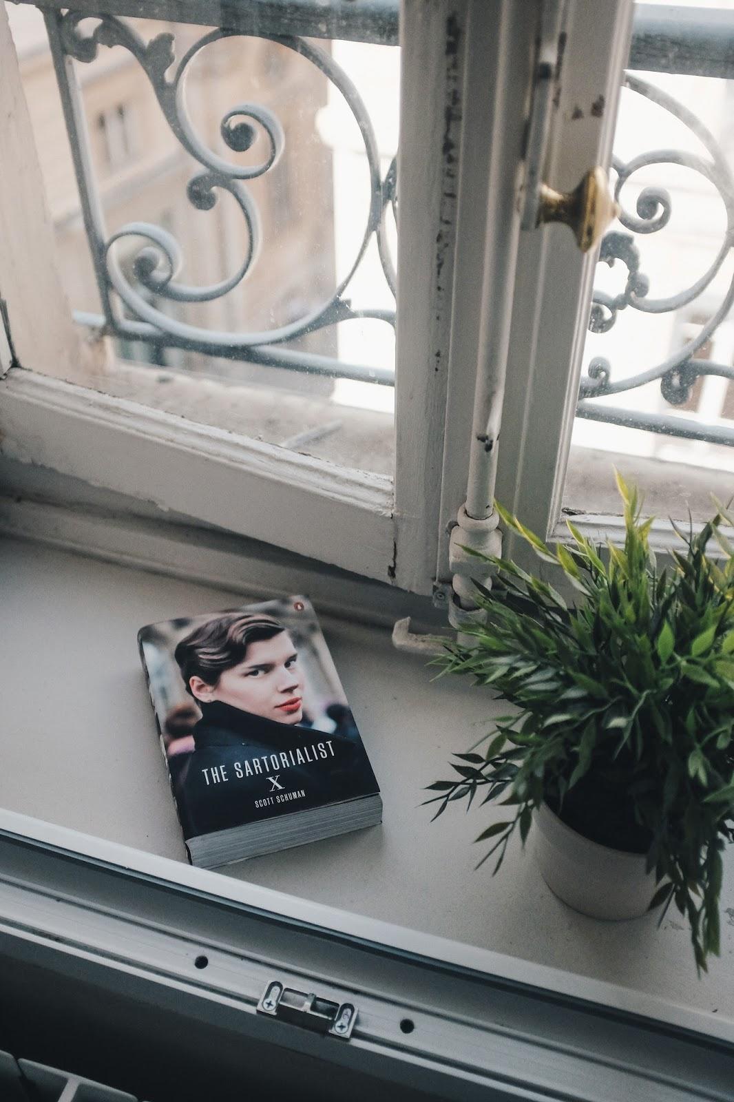 Scott Schuman The Sartorialist: X in french minimal apartment