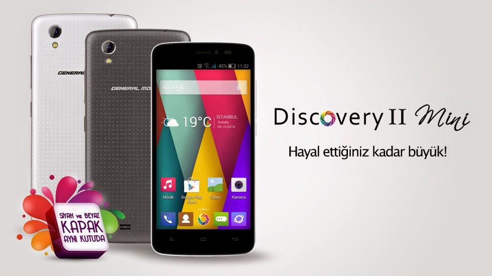 General Mobile Discovery 2 Mini teknik özellikler ve fiyat