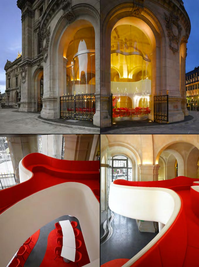 Santi 39 s royal home l 39 op ra restaurant paris l 39 op ra restaura - Cafe de l opera garnier ...