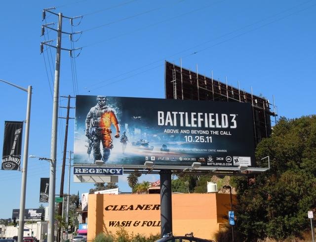 Battlefield 3 billboard