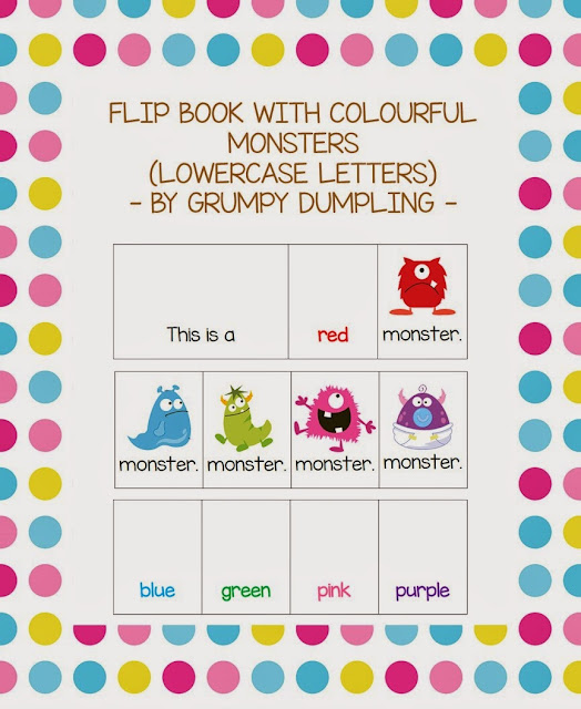 https://www.teacherspayteachers.com/Product/Flip-Book-with-Colourful-Monsters-1521662
