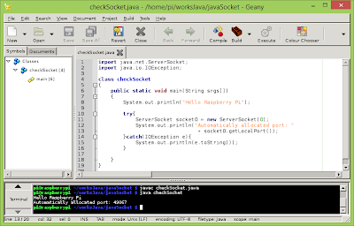 Find a free port using Java with ServerSocket(0)