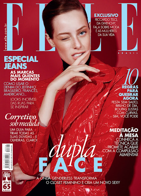 Model @ Thairine Garcia By Nicole Heiniger For Elle Brasil, July 2015
