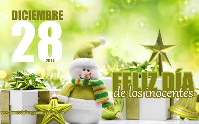 Dia de los Inocentes en 28 de Diciembre de 2012