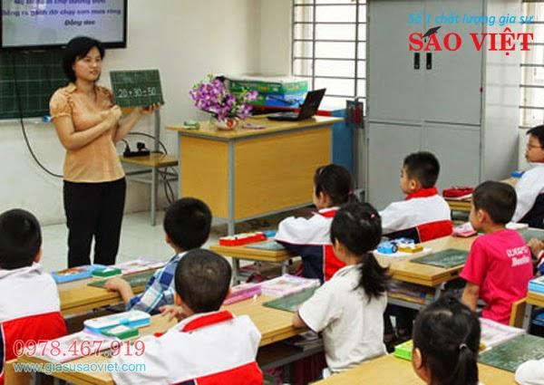 Gia Sư Lớp 1 Đồng Hành Cùng Bé Tới Trường cho dien thoai
