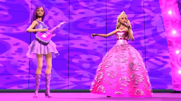 Barbie: Nuevas imagenes de Barbie en la princesa y la
