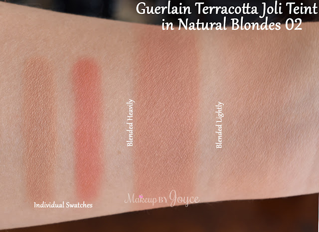 Guerlain Joli Teint Natural Blondes Swatch