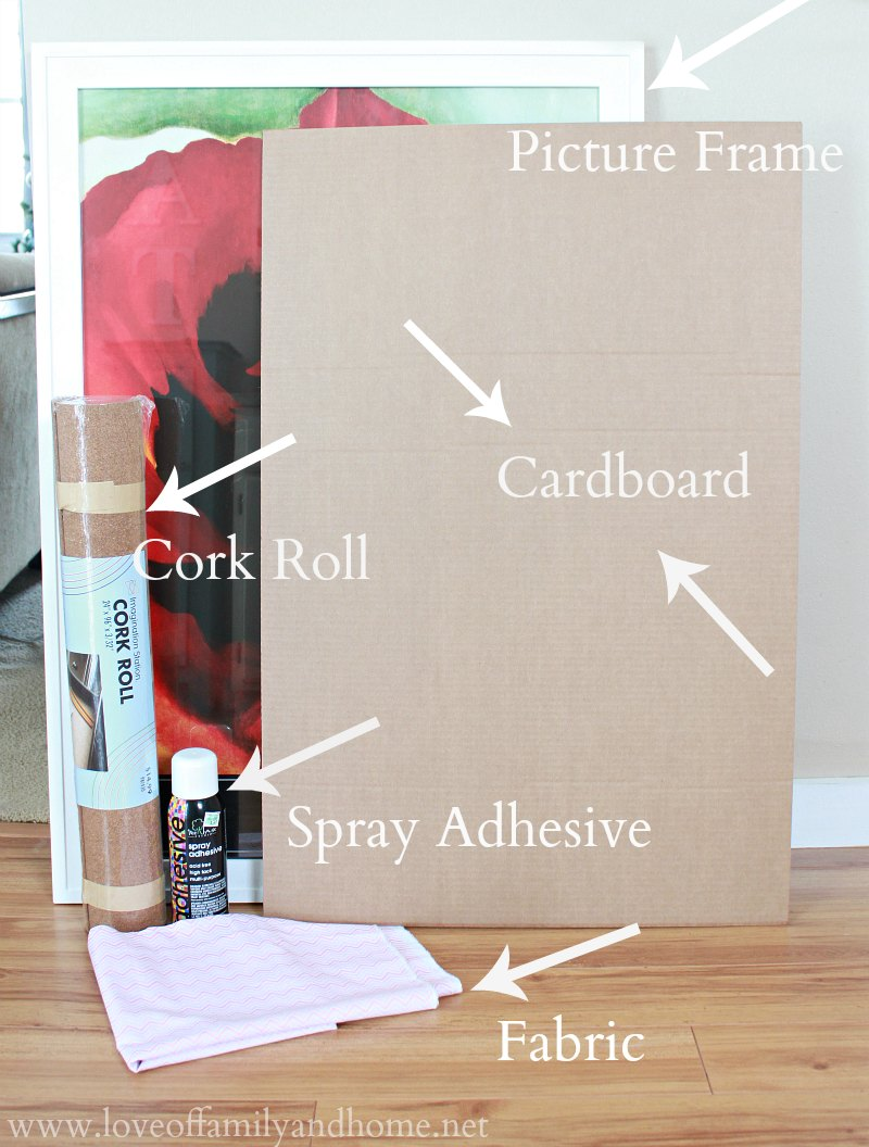 DIY Corkboard Jewelry Organizer Love of Family Home