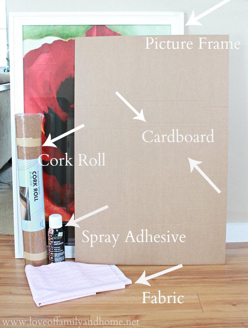 DIY Corkboard Jewelry Organizer Love of Family Home