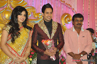 Celebraties at Actor Bharat n Jessy Wedding Reception Photos+%252811%2529 Actor Bharath n Jessy Wedding Photos