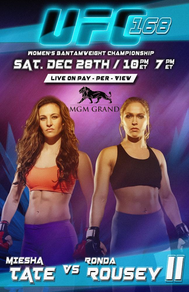 Ufc 168 Fight Poster Planet GTM: UFC 168 - ...