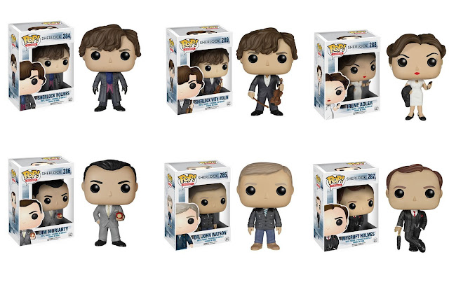 Sherlock Funko set of 6