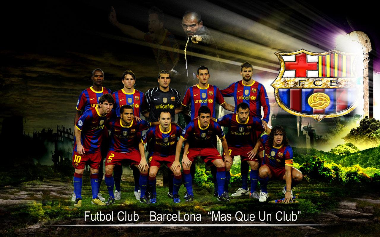 FC Barcelona Team 2014